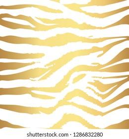 Background pattern texture tiger  and zebra stripe gold jungle safari. Tiger and zebra  seamless pattern.