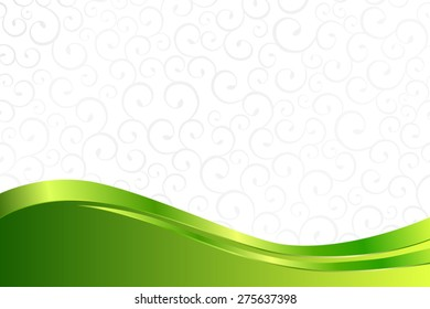 Background pattern white grey with green lines vector