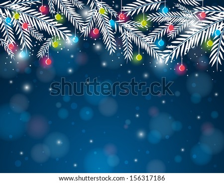 background-pine-twig-christmas-ball-450w