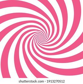 background pink white spiral loop twist vector