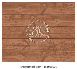 Background of realistic wooden planks. Tricolor, simple, usable design. The cherry wood color