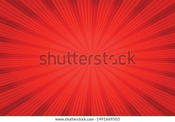 Background with red dots. Abstract background with halftone dots design. Vector illustration.
