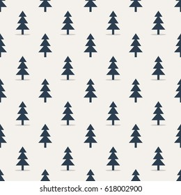 Background. Repeating background from Christmas trees.