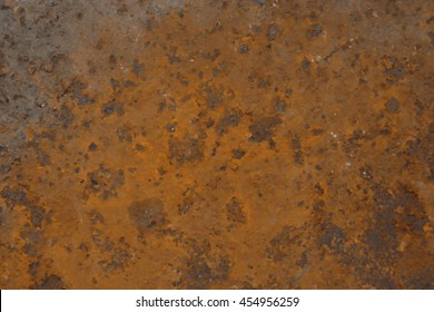 Background of rusted metal