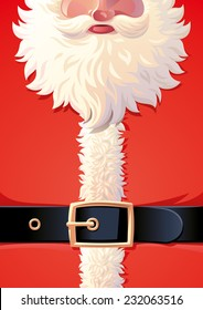 Background of Santa Claus coat