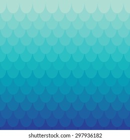 Background in scale or tile style. Vector colored seamless pattern.