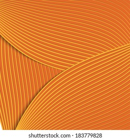 background in shades of orange with blend lines