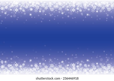 background of snowflakes winter illustration