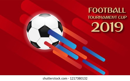 background for the soccer championship. football for web, poster, banner design. Abstract football design