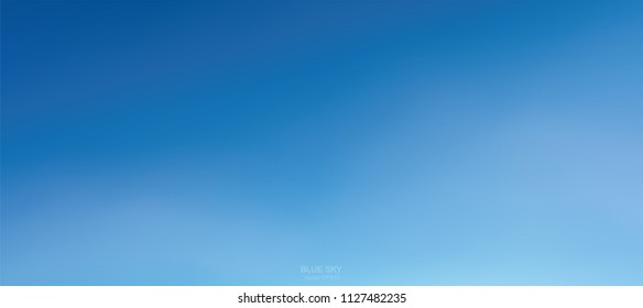 Background of soft white clouds against blue sky. Abstract sky for natural background. Vector illustration.