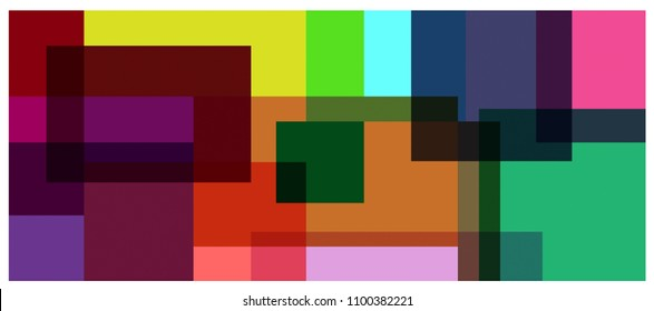 Background  square Colorful- modern Vector.