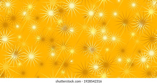 Background from stars for festive packaging. Stars seamless background. Vector illustration eps-10