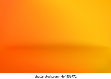 Background Studio Horizon Yellow Orange Vector