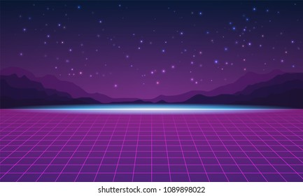 Galaxy Arcade Background Images, Stock Photos & Vectors
