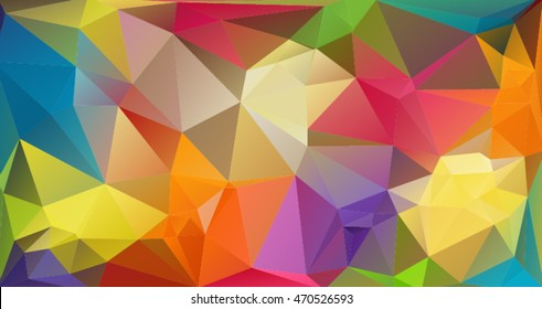 The background in the style of Cubism. Color Wallpapers