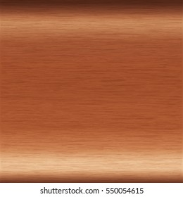 background or texture of brushed copper surface