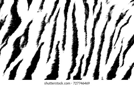 background texture tiger stripe black white print