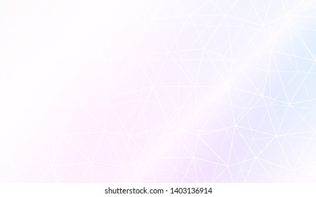 Background with triangles. Modern design for you business, project. Vector illustration. Pastel gradient color