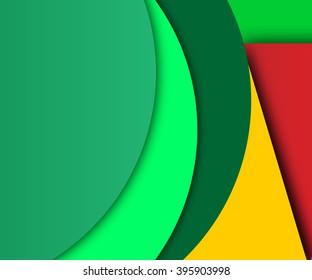 Background Unusual modern material design.Vector Illustration.