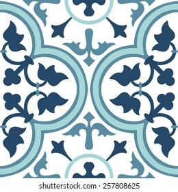Vintage-Hintergrundblume. Nahtlose Blumenmuster. Abstrakte Tapete. Textur königliche Vektorgrafik. Stoffbild.