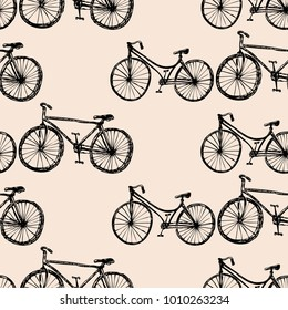 background of the walking bicycles