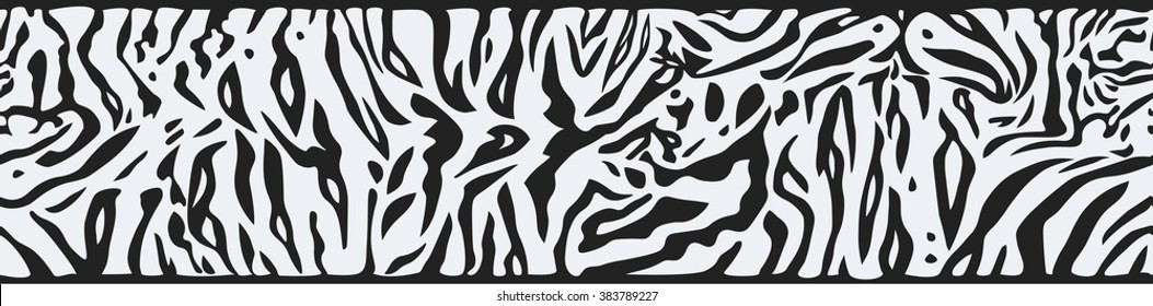 Background with White Tiger skin