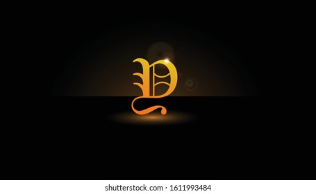 Background Y Initial 3D.  The initials Y vector.  Initials Y for design logos
