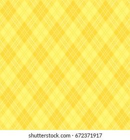 background of yellow argyle plaid.