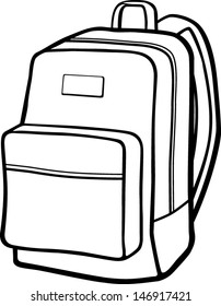 Backpack Clipart Images Stock Photos Vectors Shutterstock Check out our backpack clipart selection for the very best in unique or custom, handmade pieces from our backpacks shops. https www shutterstock com image vector backpack 146917421
