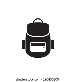 backpack icon symbol sign vector