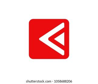 backward icon button