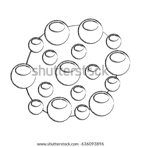 Bacterial Cell Structure Icon Stock Vector Royalty Free 636093896