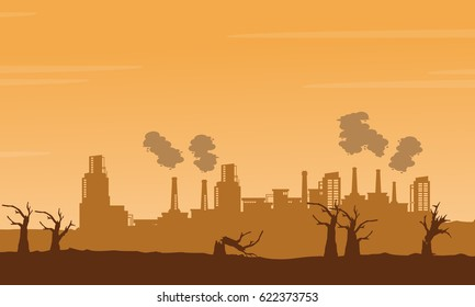 Bad environment with many industry background