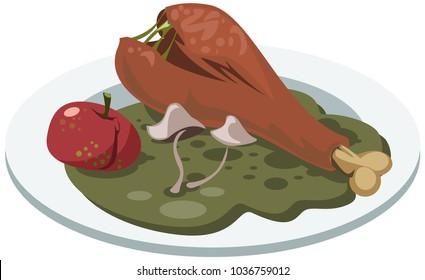 Rotten Food Images, Stock Photos & Vectors | Shutterstock