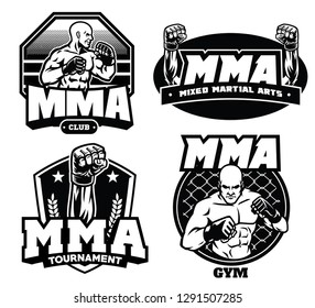 badge design of mma