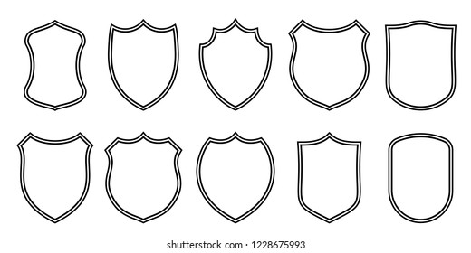 photograph relating to Printable Coat of Arms identified as Coat Hands Guard Template Visuals, Inventory Illustrations or photos Vectors