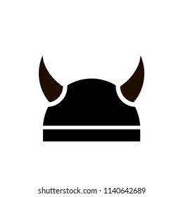 badge of the Viking helmet