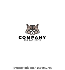 Badger Logo Design Illustration Vector