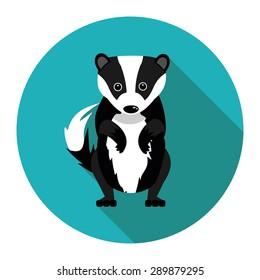 badger in vector format
