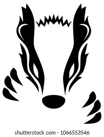 Badger Vector Illustration