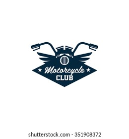 Badges, emblems Motorcycle vector logo