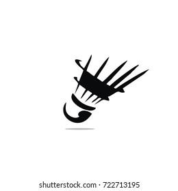 badminton icon logo