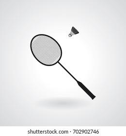 Badminton  icon. Vector illustration