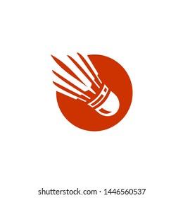 Badminton Logo Shuttlecock Logo Symbol