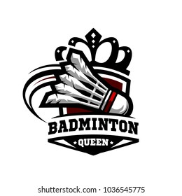 Badminton Queen Logo