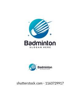 Badminton Shuttlecock icon logo. You can use for Sport logo and Badminton Championship Logo