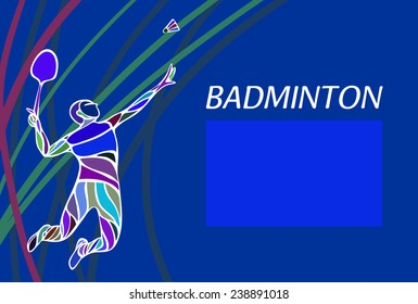 Kluvas banner templates set on shutterstock badminton sport invitation poster or flyer background with empty space banner template maxwellsz