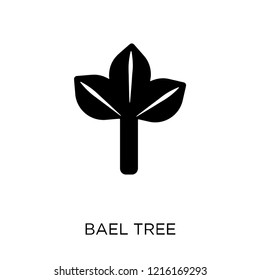 Bael tree icon. Bael tree symbol design from India collection. Simple element vector illustration on white background.