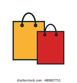 bag shopping commerce icon