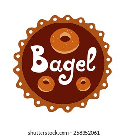 Bagel vector illustration